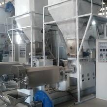 玉米預糊化淀粉生產線預糊化淀粉膨化機圖片