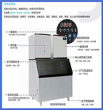 雪人商用制冰機SD-1500分體式制冰機奶茶店KTV酒店方塊冰制冰機圖片