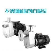 304不銹鋼自吸泵抽酸堿抽酒泵防爆耐腐蝕耐高溫化工業自吸泵圖片