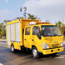 五十铃双排座排水车救险车厂家图片