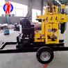 巨匠供貨輪式液壓鉆機XYX-200型巖心鉆機可用于地質勘探動力足