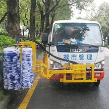 城市多功能圍擋清洗機城市道路護欄清洗車圖片