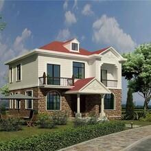 河南洛陽農村加蓋輕鋼別墅圖片