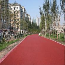 河南新鄉氧化鐵顏料生產廠家,透水地坪施工,噴涂罩面施工圖片
