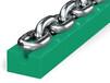高分子圓環鏈導軌輸送線環鏈導軌鏈條導槽