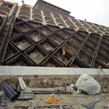 錨桿框架梁護坡模板,網格護坡定型鋼模板,山體邊坡防護圖片