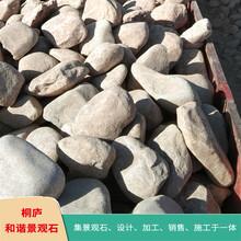 浙江園林風景石天然鵝卵石雨花石濾料奇石原石