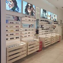 供應北京實木眼鏡展示柜朝陽高端眼鏡陳列架廠家案例圖片