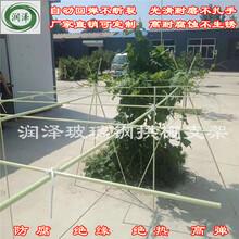 河北润泽可定制玻璃钢纤维棒玻璃钢大棚骨架图片