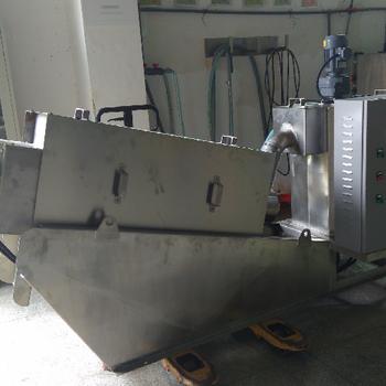 索季東股SDL301疊螺污泥脫水機污水處理食品制藥化工皮革