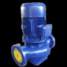 ISG立式管道离心泵ISW卧式管道增压泵单级热水防爆管道循环水泵图片