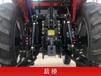 路通-804B多用途農用小型四輪拖拉機路通東方紅動力