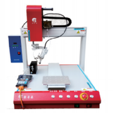 蘇州自動焊錫機單頭單工位自動焊錫機單頭雙工位自動焊錫機圖片