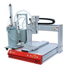 蘇州自動點膠機AB膠自動點膠機單頭雙工位自動點膠機圖片