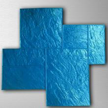 海南壓花地坪材料混凝土壓模藝術耐磨路面壓印圖片