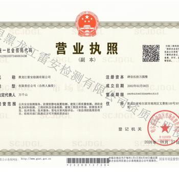 黑龙江防雷检测公司