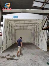 東莞沙田鋼結構雨蓬/室外球場遮雨棚防曬擋雨批量圖片