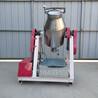 干粉攪拌機不銹鋼腰鼓式混合拌料機飼料顆粒攪拌機