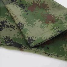 厂家150D防水阻燃涂层涤纶迷彩帐篷布图片