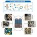 沃朗大棚水產養殖用空氣能熱泵-15匹等空氣調節設備的應用特點