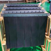 美奂新材料环保复合橡胶导料槽密封条挡尘帘防尘帘图片