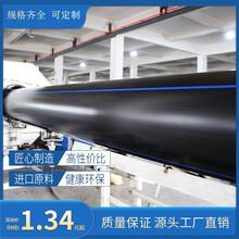 PE給水管大口徑PE給水聚乙烯PE給水管1000大口徑排污管圖片