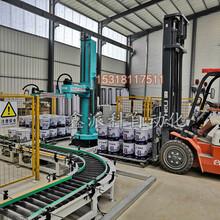 立柱机器人码垛机在饲料行业的应用图片