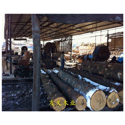 銅川落葉松原木批發市場,規格價格優