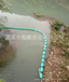 四川水庫河道攔垃圾截污浮筒水電站攔污漂排