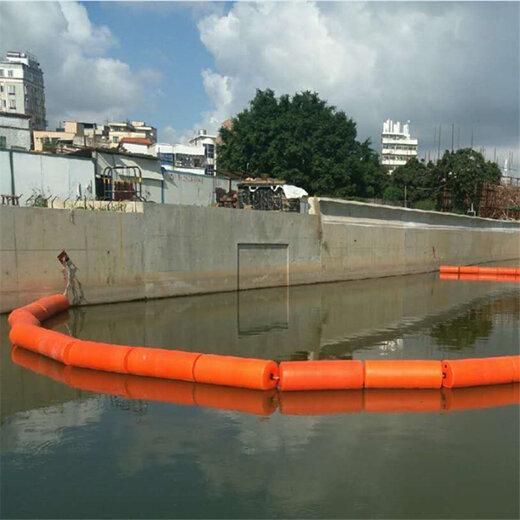河道攔污漂排海上攔渣浮筒攔截水上垃圾