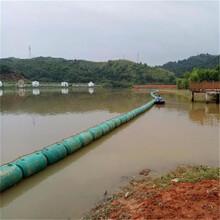滾塑攔污浮體非通航水域攔垃圾的攔污浮筒圖片