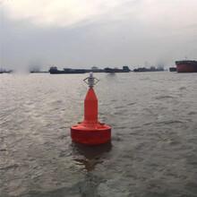 航道定位塑料浮標裝太陽能的警示浮標續航能力強圖片