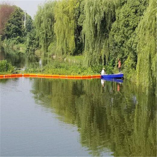 河道攔垃圾的浮筒河道攔污截污浮筒