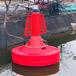 水質監測浮標航道帶燈警示的航道浮標