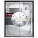 廠家定制鈦鎂合金極窄邊框廚房門招商,鋁合金玻璃推拉隔斷門