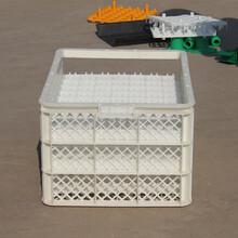 長方形防靜電雞蛋周轉框塑料種蛋轉運筐側抽拉式塑料蛋筐圖片