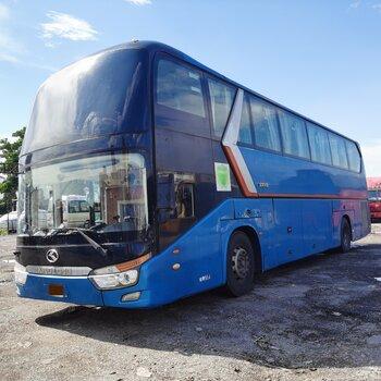 2014年9月55座氣囊中門有暖氣洗手間大金龍6129型客車