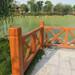 水泥仿木護欄鋼筋混凝土欄桿景區仿木護欄定制