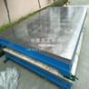 筋板式鑄鐵平臺箱體式鑄鐵平板焊接平板測量平臺佳鑫定制