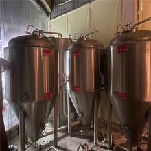 500升精酿啤酒设备二手两罐三器1000升2000啤酒设备酒设备图片
