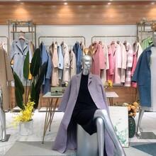 廣州三杰服飾連衣裙、羽絨服、羊絨大衣,雙面呢品牌折扣批發圖片