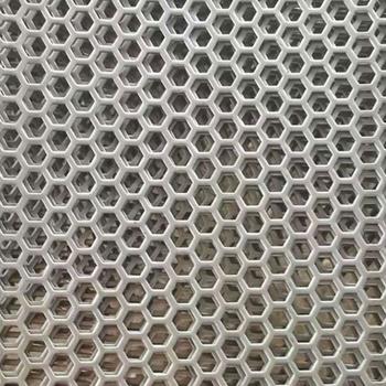 安平县供应生产各种异型孔型冲孔网