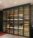 北京酒店紅酒柜定做多少錢一平
