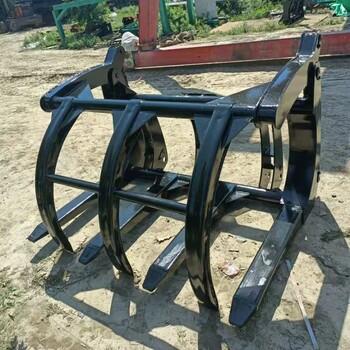 裝載機改裝抓木器裝載機改裝抓石器生產廠家直達客戶