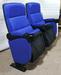 山西長治禮堂椅子多功能報告廳會議椅聯排扶手杯架劇院座椅