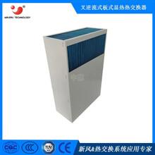光伏行业太阳能光伏逆变器散热用气气板式换热器IPX5防水非标定制