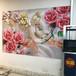 停車位涂鴉機自動智能地面廣告打印機3d5d墻體噴繪機墻壁彩繪機