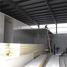 聚氨酯保溫板安裝設計聚氨酯保溫板定制不銹鋼冷庫板廠家圖片