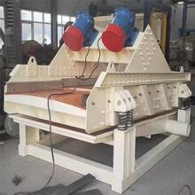 砂石脱水筛高频振动筛泥沙脱水机细沙脱水筛设备图片