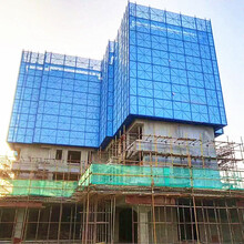 全鋼爬架廠家生產智能建筑爬架圖片